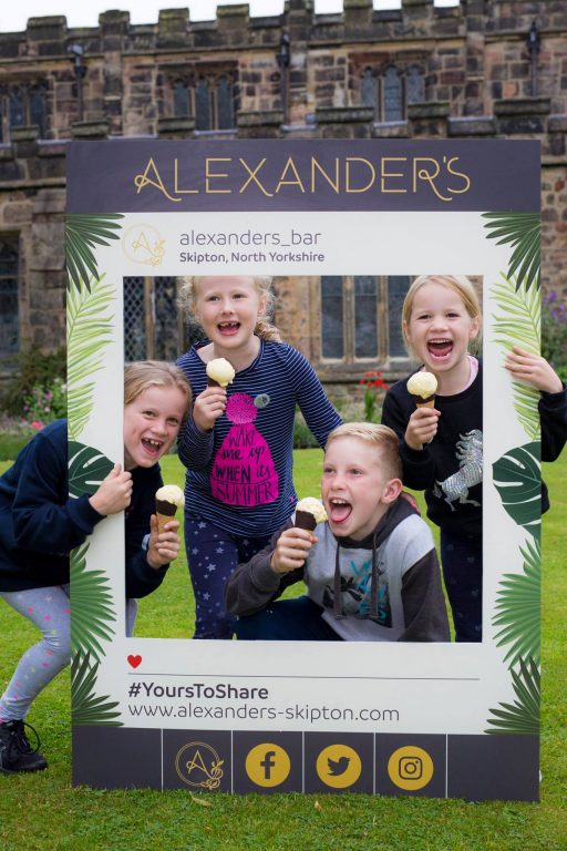 The Scoop - Alexander's event in Skipton town centre