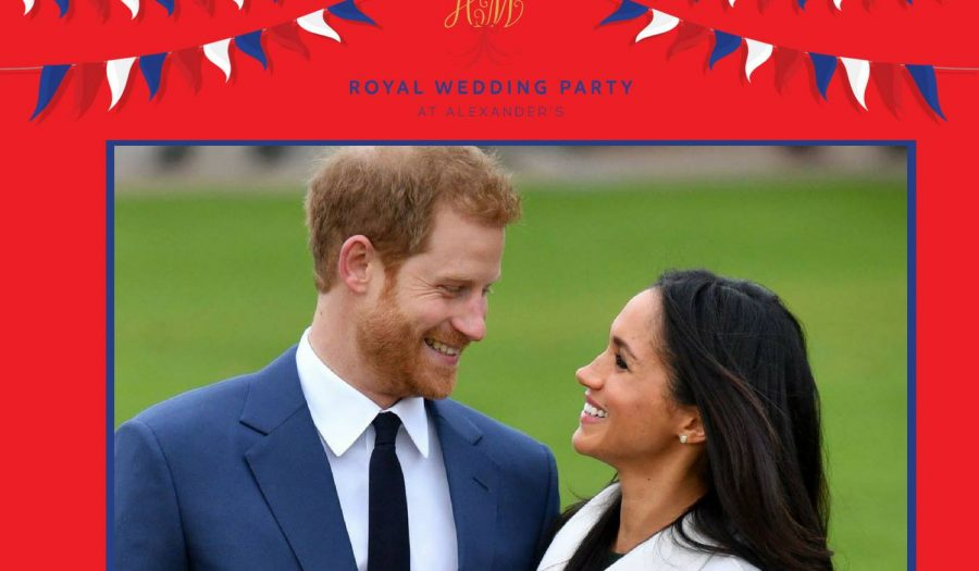 alexander s royal wedding party the big day s nearly here