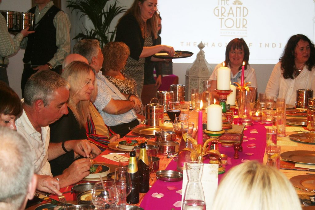 Grand Tour Supper Club at Alexander's Skipton